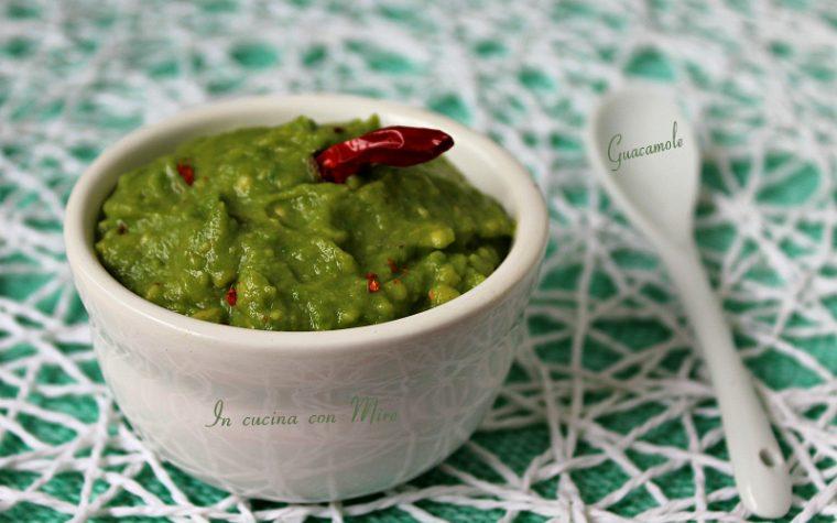 Guacamole salsa ricetta facile