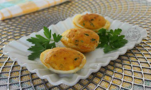 Uova sode ripiene e fritte ricetta antica calabrese