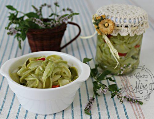 Zucchine sottolio senza cottura