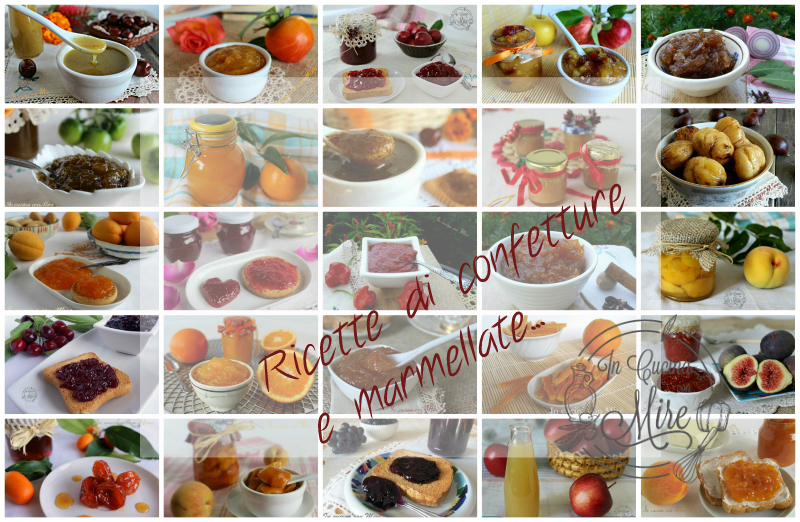 Ricette di confetture e marmellate