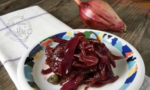 Cipolle rosse di Tropea all'aceto balsamico