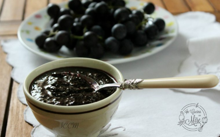 Marmellata di uva fragola