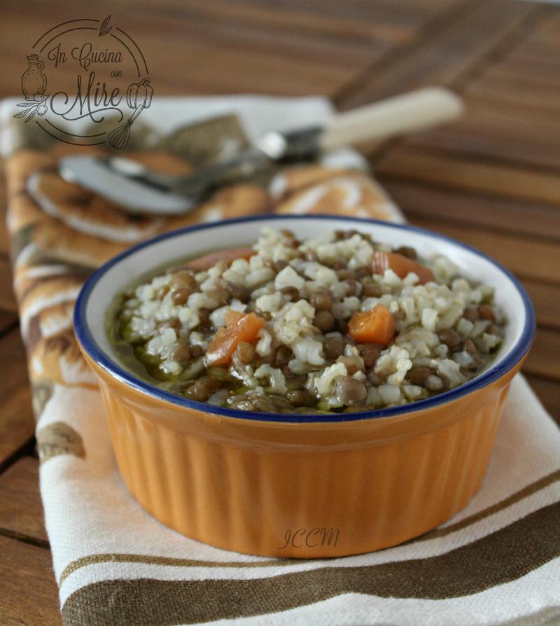 Riso e lenticchie ricetta di una zuppa calda e nutriente for Lenticchie d acqua