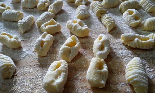 Gnocchi con patate senza uova