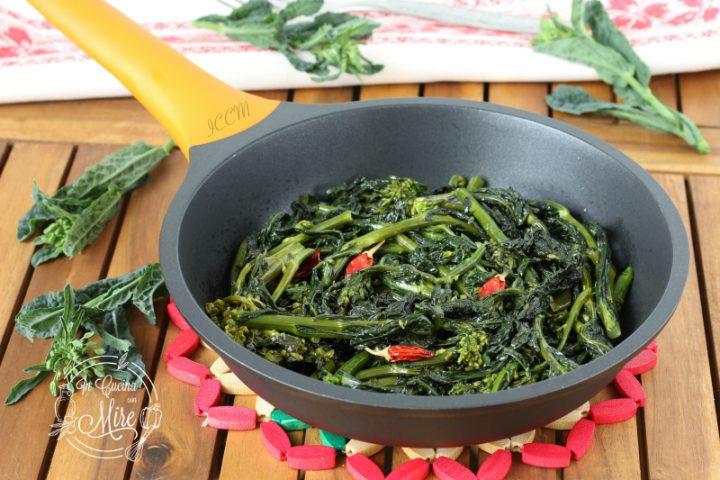 Broccoli di cavolo nero ripassati in padella