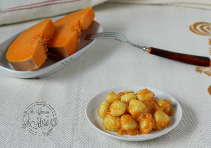 Gnocchi cremosi con zucca e gorgonzola