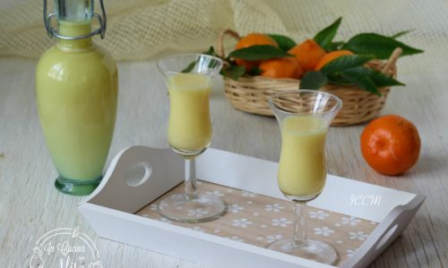 Ricetta Liquore – Crema al mandarino