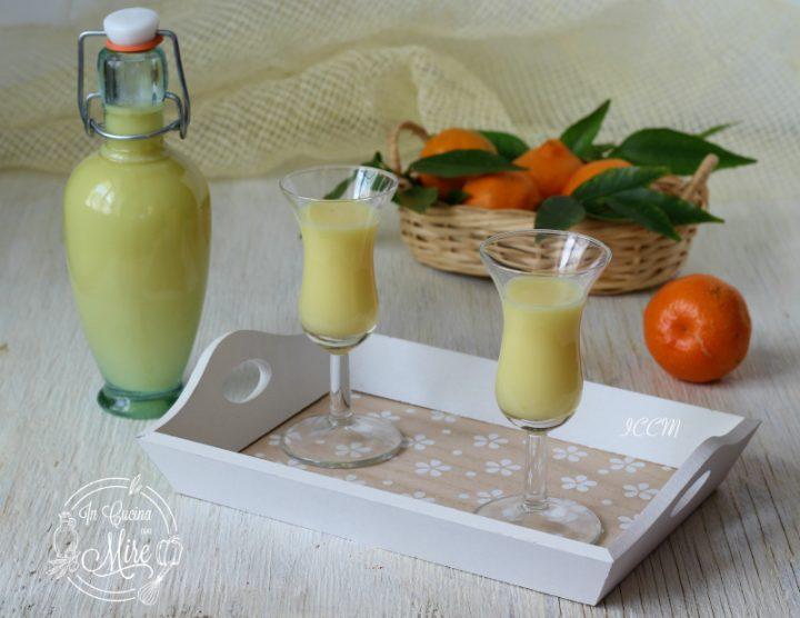 Ricetta Liquore - Crema al mandarino