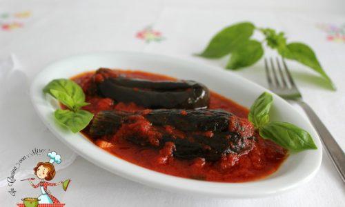 Melanzane farcite – Mulingiane 'mbuttunate' ricetta calabrese