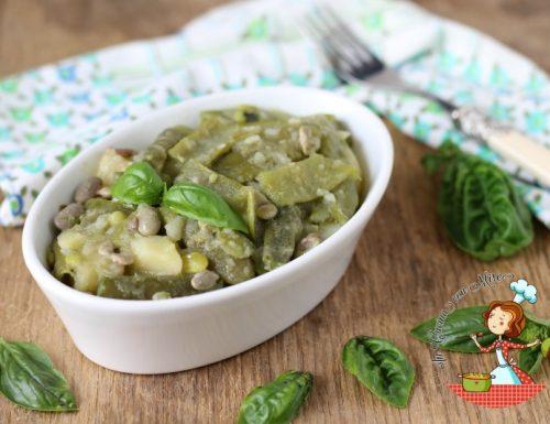 """Fagiolini e patate – minestrone calabrese di """"vajanelle e patate"""""""