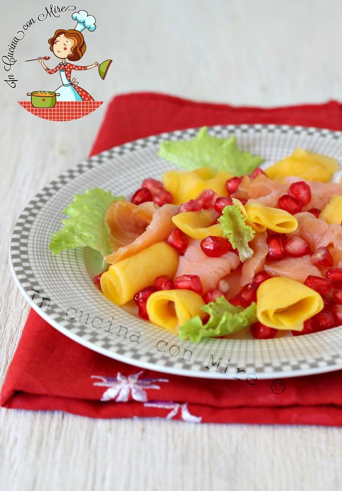 Insalata salmone e mango