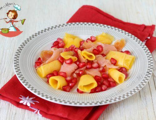 Insalata di Salmone e Mango