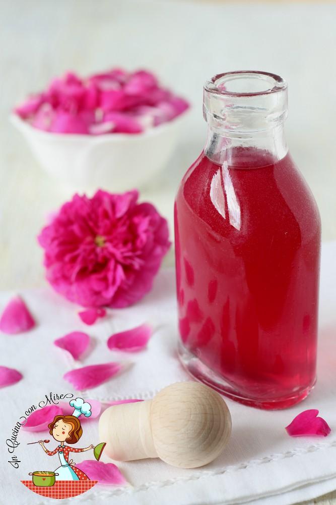 acqua di rose per uso alimentare