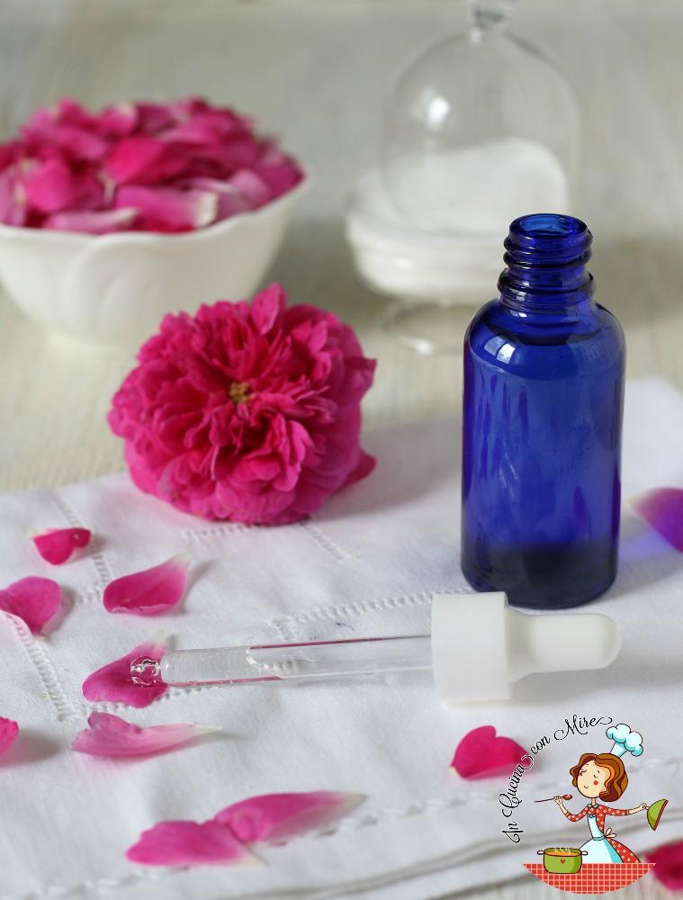 acqua di rose distillata