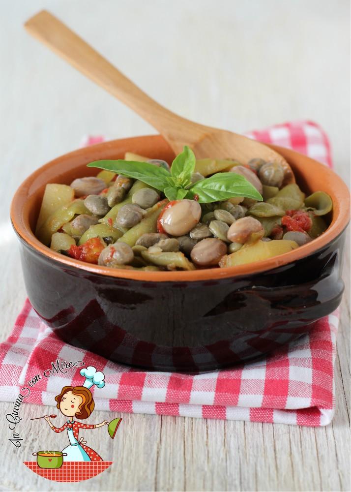 Minestrone di fagiolini