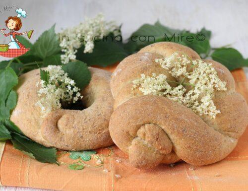 Pane con sambuco o pane è maju