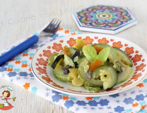 Zucchine agrumate