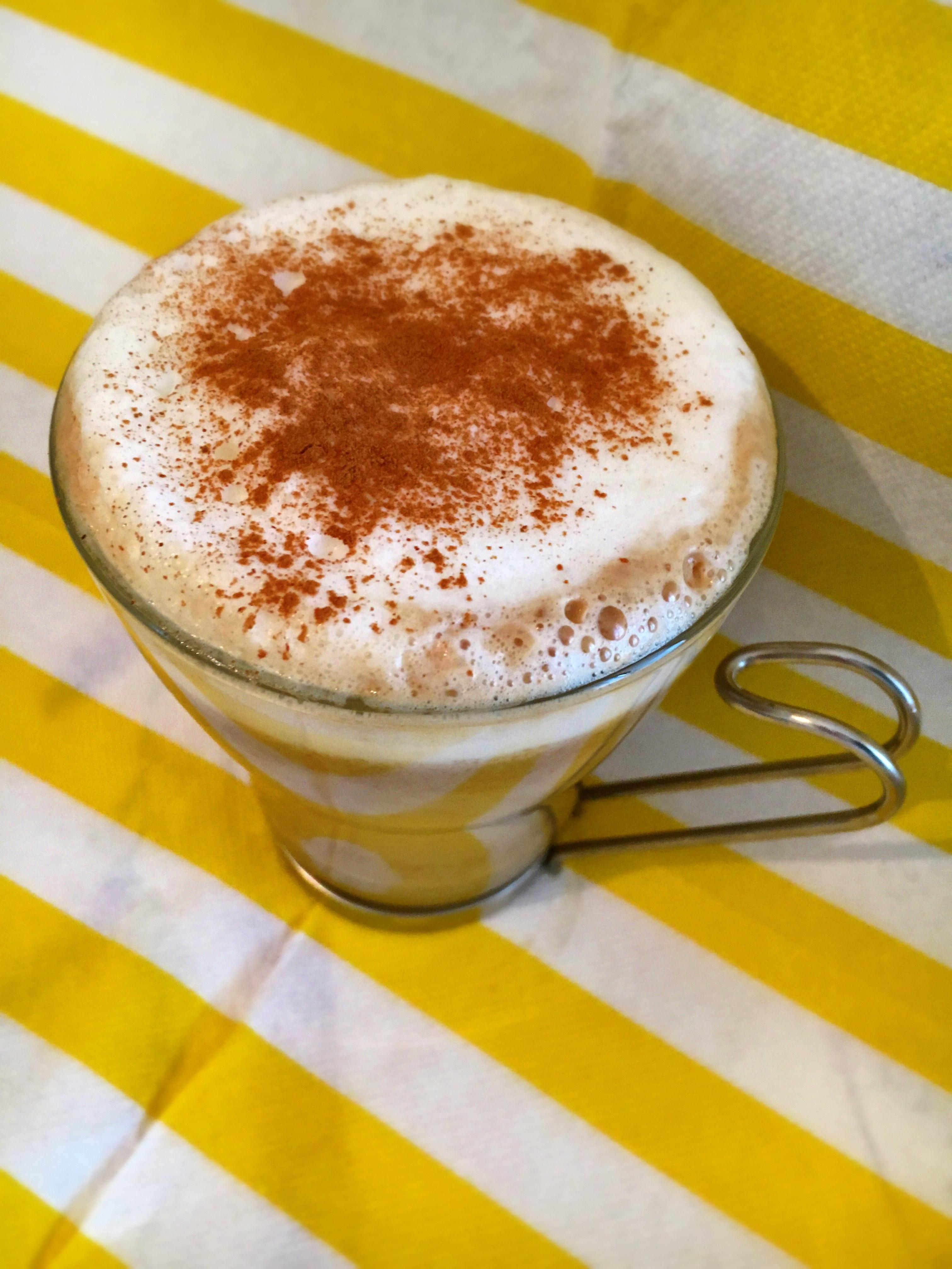 Latte speziato alla zucca - Pumpink spice latte fatto in casa