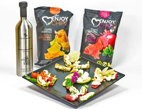 Chips Vegetali dell' E-Commerce Evoitalyfood: Ricette Originali