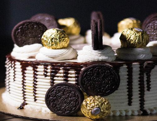 Torta Ferrero Rocher  con Oreo