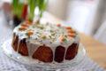 Torta Carotina e Yogurt con Glassa al Formaggio