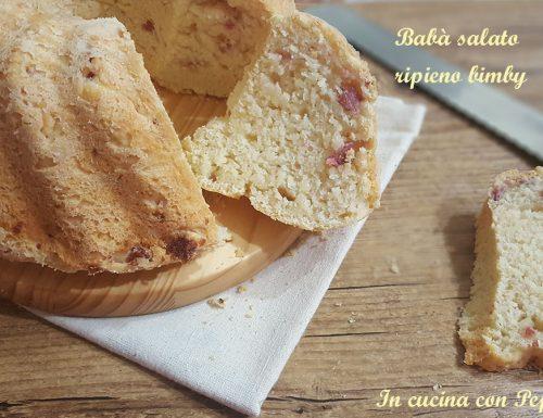 Babà salato ripieno – ricetta con bimby