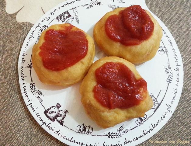 Pizzette montanare bimby