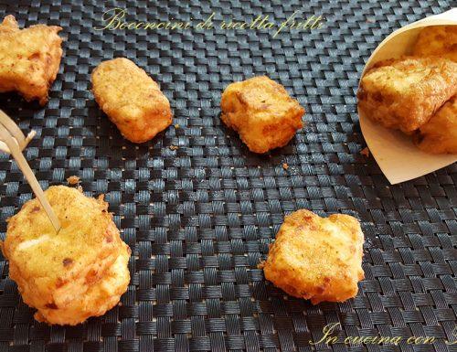 Bocconcini fritti di ricotta – ricotta ndurat e fritt