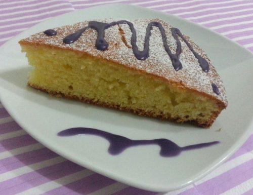 Torta al limone (procedimento con bimby)