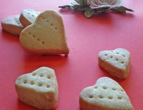 Shortbread per san Valentino