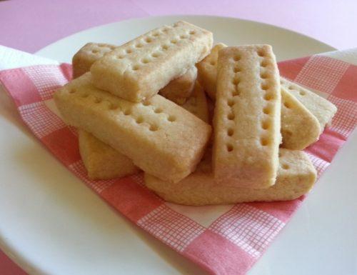 Shortbread (biscotti scozzesi) con bimby