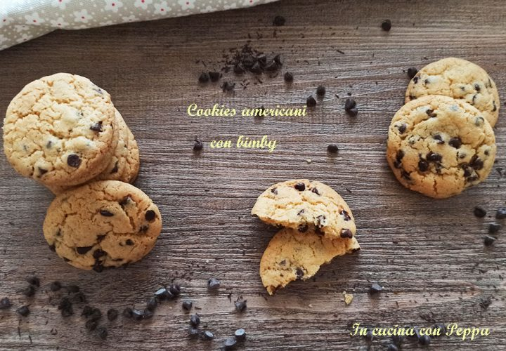 cookies americani con bimby