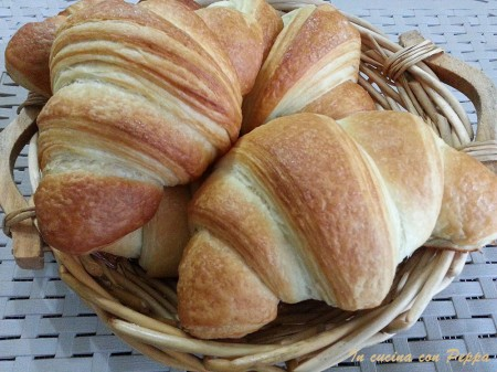 croissant - ricetta passo passo