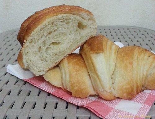 Croissant – ricetta passo passo