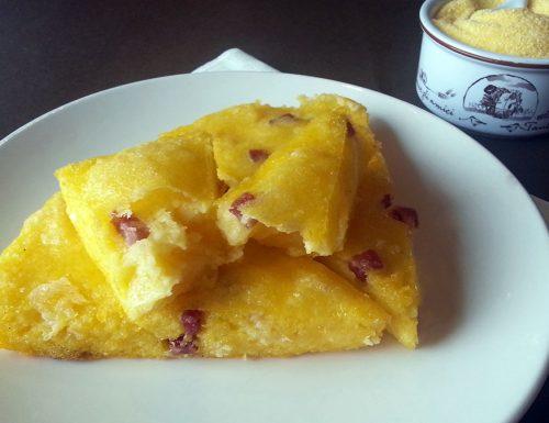 Scagnuzzielli bimby (polenta fritta farcita)
