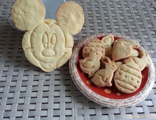 Biscotti di pasta frolla con bimby