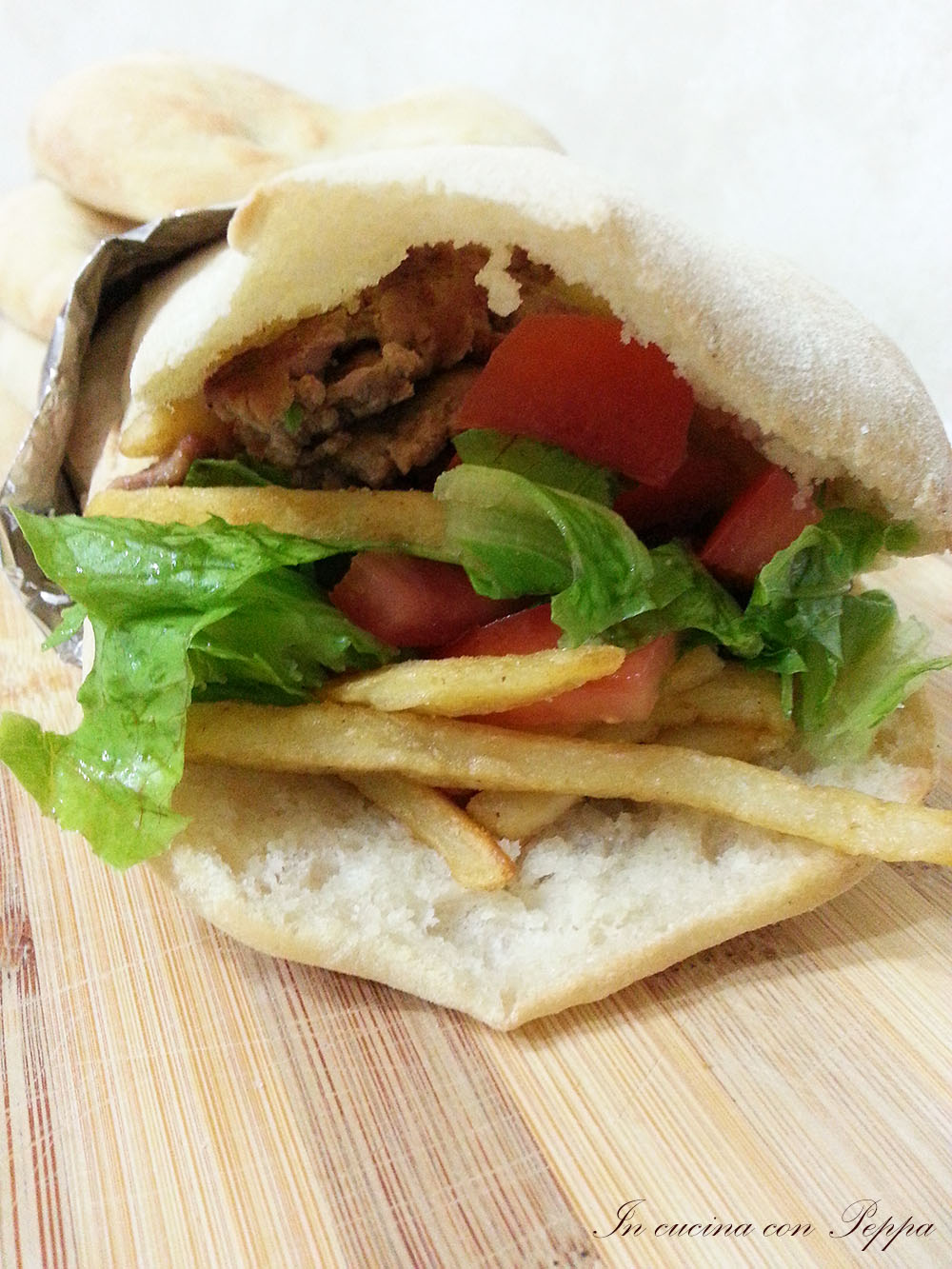 Ricetta Pane Arabo Per Kebab Bimby.Pane Arabo Bimby In Cucina Con Peppa