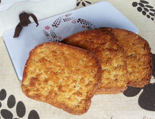 Fette biscottate multicereali – ricetta gustosa