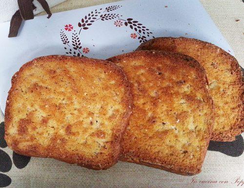 Fette biscottate multicereali bimby