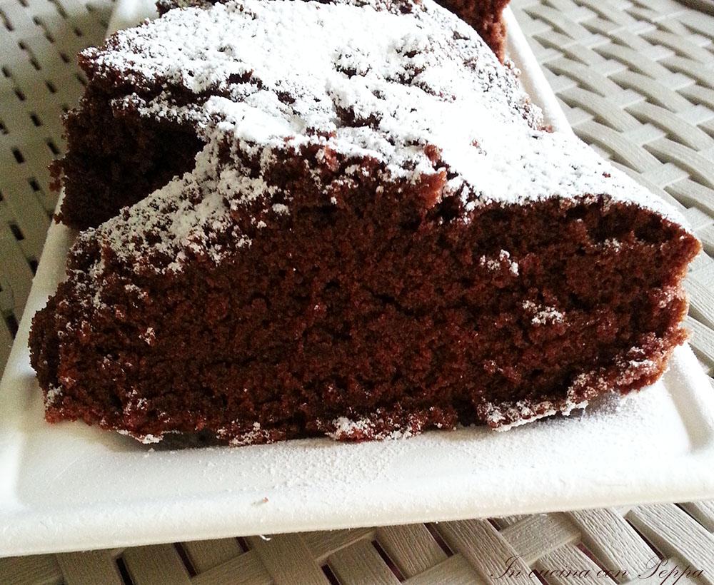 Torta al cioccolato ricetta microonde in cucina con peppa for Ricette microonde