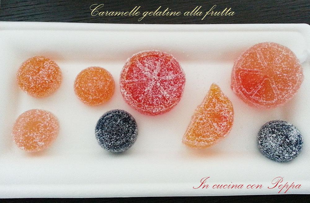 caramelle gelatine lla frutta