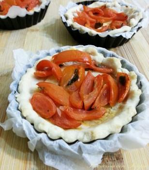 mini quiches ai pomodorini