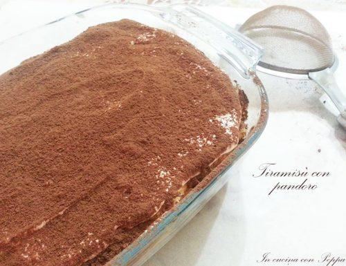 Tiramisù con pandoro – ricetta riciclo