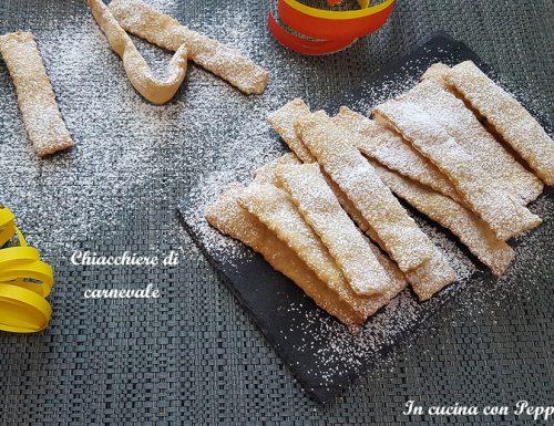 Chiacchiere – ricetta carnevale