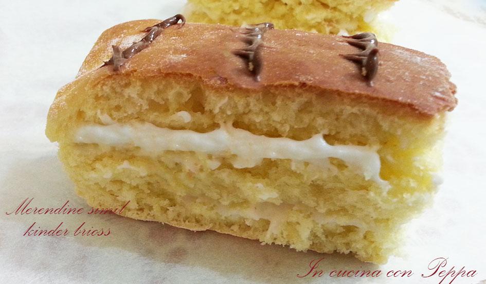 Ricetta Kinder Brioss Bimby.Merendine Con Crema Al Latte Bimby Tm31 In Cucina Con Peppa