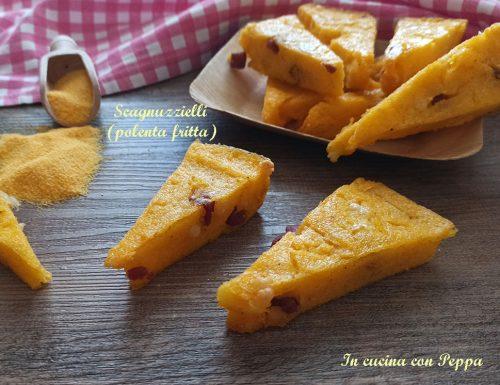 Scagnuzzielli – polenta farcita – carnevale
