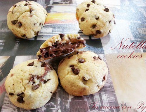 Nutella cookies – ricetta facile e veloce