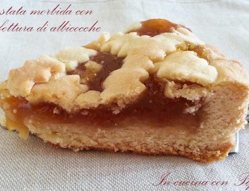 Crostata  morbida con confettura di albicocche