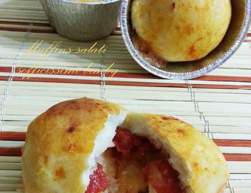 Muffins salati sofficissimi bimby