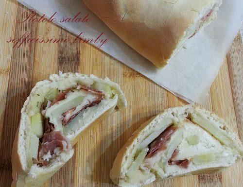Rotolo salato sofficissimo bimby